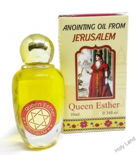 Queen Esther - Jeruzalemský olej na pomazanie - 10 ml