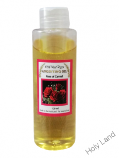 Olej na pomazanie z Jeruzaléma - Rose of Carmel  - 100 ml